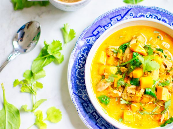Sweet potato and coconut slow cooker curry